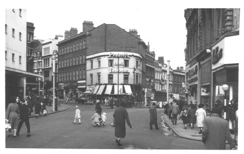 Dale End High St Bull St 1962