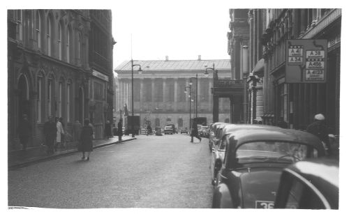 Colmore Row Nr Newhall St 1962