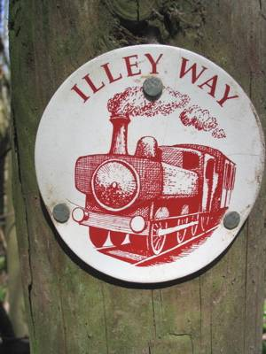 Illey Way sign