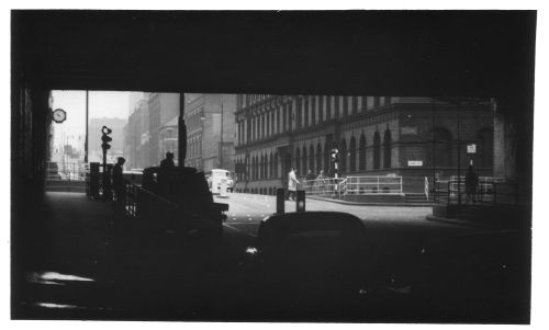 Gt Charles St from Under Railway Bridge 1962