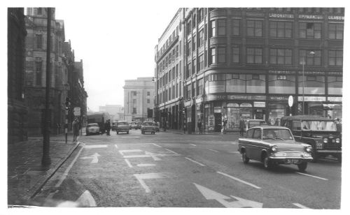 Junction Gt Charles St / Congreve St 1961