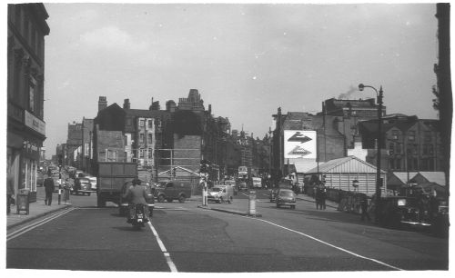 Horsefair Towards John Bright St 1958