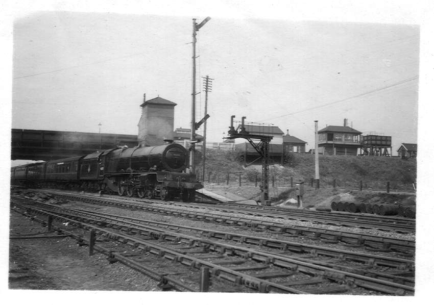 46201 8A Tamworth Station 1949