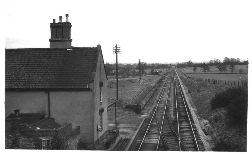 Droitwich Road Station 1955