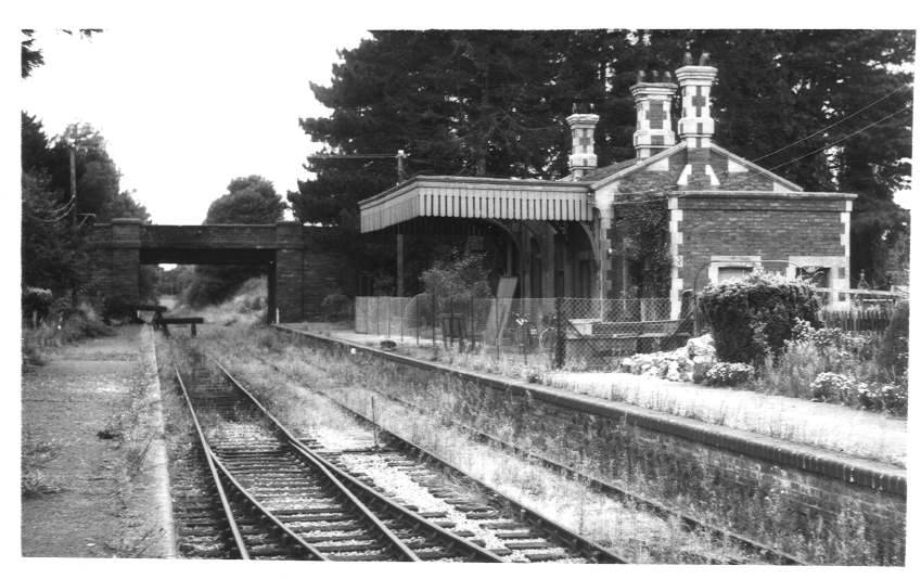 Dymock Station from south