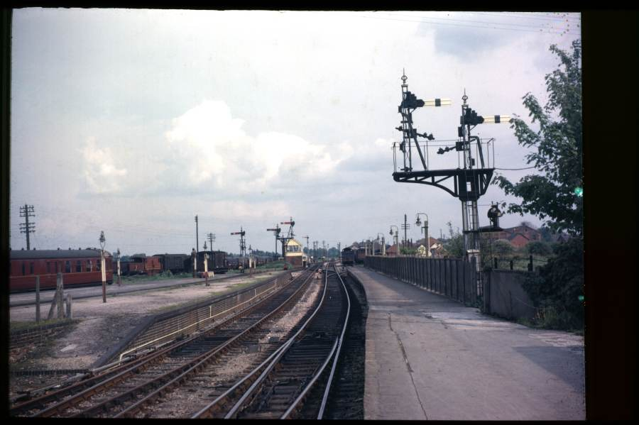 East end of Highbridge (S&D) Station 1963