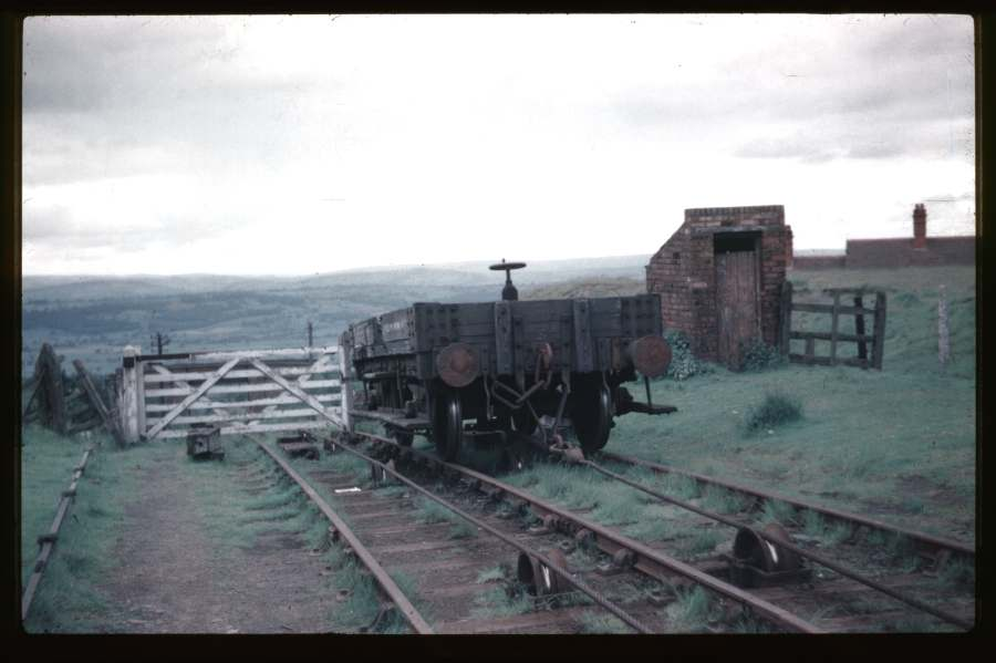Front view of Clee Hill No 3