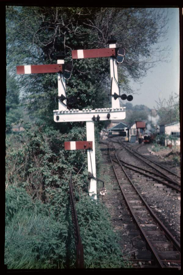 Gantry near Hythe 1956