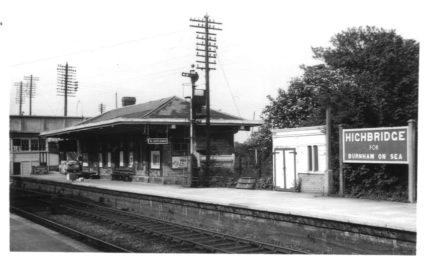 Highbridge GWR Station 1963