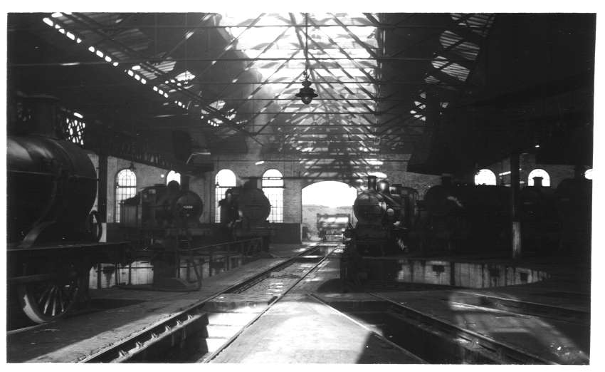 Interior of Bournville Shed