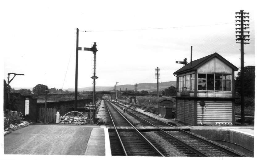 North end of Coaley Station