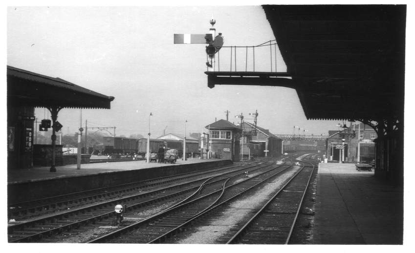 North end of Hereford Station 1963