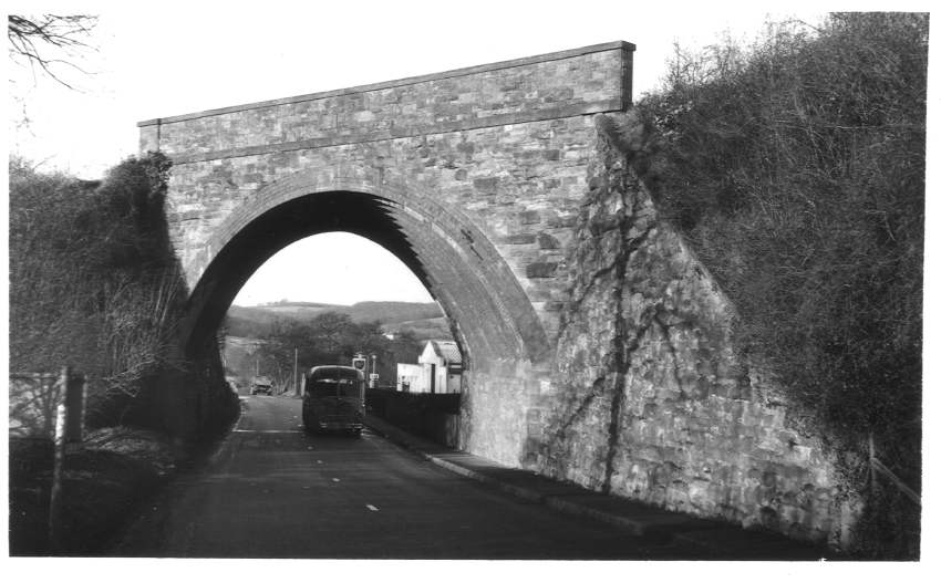 Rail bridge Hereford Road Ledbury