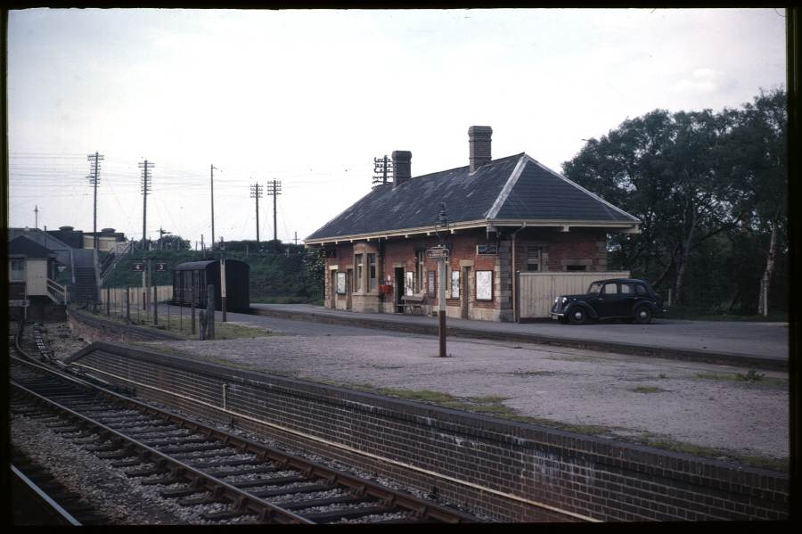 S&DJ Building, Highbridge Station 1963