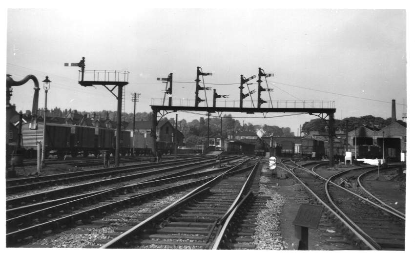 South end of Bromsgrove Station 1954
