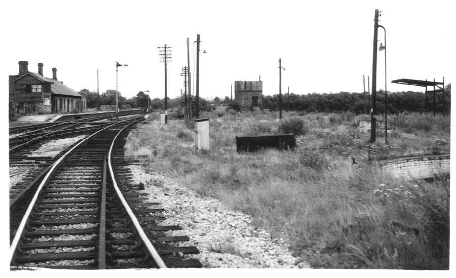 Site of Stratford-on-Avon Loco Shed 1962