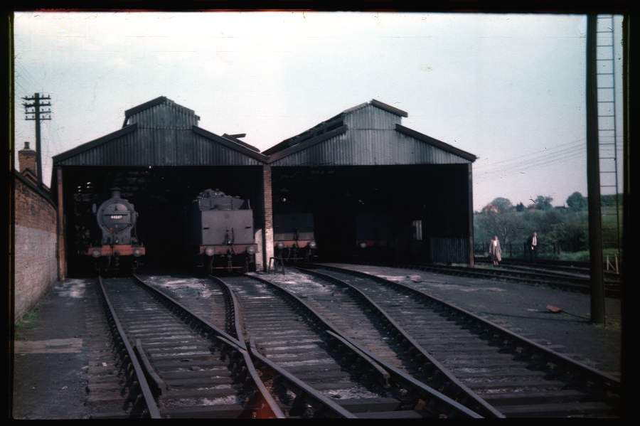 Stratford-on-Avon Shed 1956