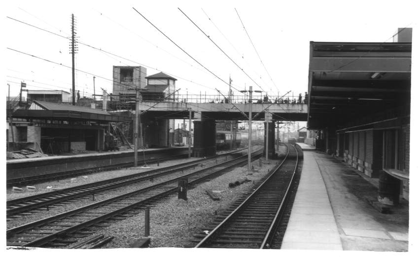 Tamworth Station (LL) 1962