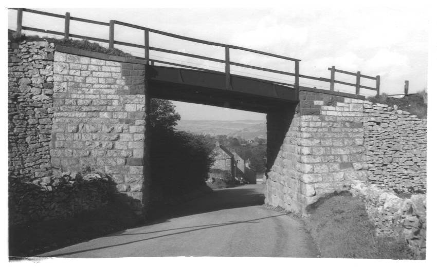 Underbridge near Middleton Top