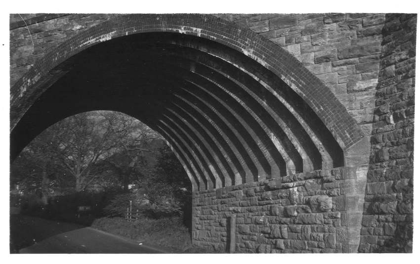 Underside of bridge, Hereford Road