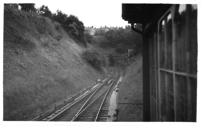 View from Redditch South Box 1955