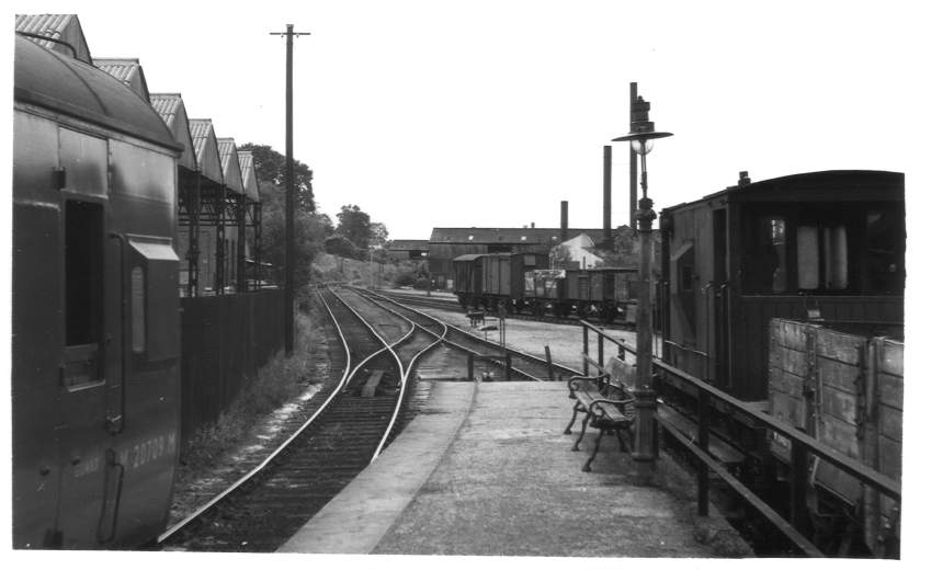 West end of Dursley Station