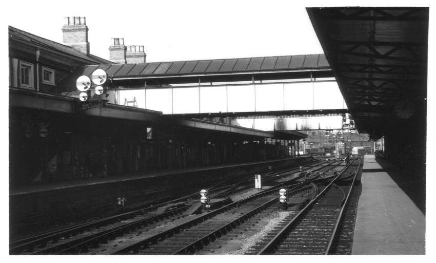 Worcester (Shrub Hill) Station 1965